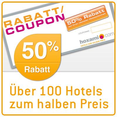 Rabatt coupons reisen
